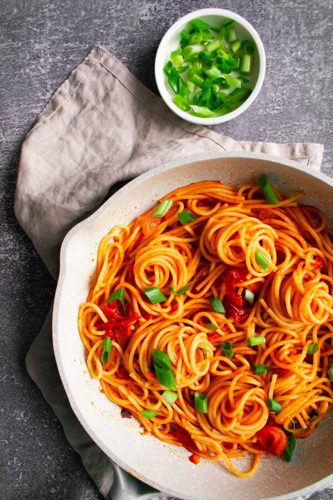 Haitian Spaghetti